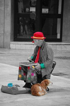 el anciano y su perro