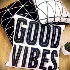 It's nearly the weekend, wishing everyone good vibes, make it stylish! Kmart Decor, Good Vibes, Boss Lady, Home Goods, Cushions, Throw Pillows, Stylish, Shop, How To Make