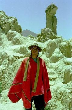 Indio bei La Paz Bolivien. wurde in Bolivien, La Paz aufgenommen und hat folgende Stichwörter: Peru Anden.