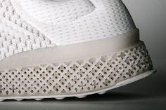 adidas 3D-printed running shoe