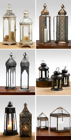 I was in pottery barn the other day and saw a bunch of lanterns and thought, hey...that could be cool...