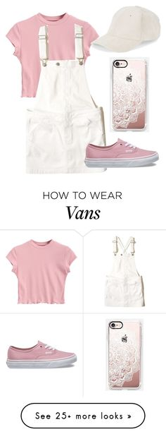 """""""Untitled #1"""" by madisonfallu on Polyvore featuring Hollister Co., Vans, BCBGeneration and Casetify"""