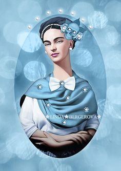 Frida Azul.