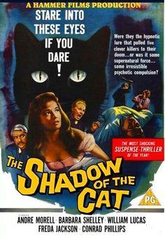 La sombra del gato (1961) Hammer Film Productions