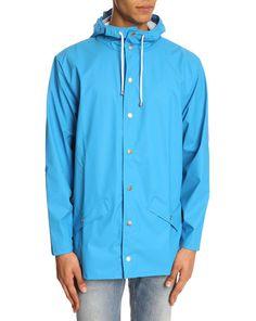 Sky Blue Water Proof Jacket - Menlook