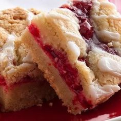 Fabulous Fruit Bars - using cookie mix and pie filling, ingredients you probably have on hand