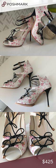 Sophia Webster Heels Must have! Never Worn! Added Leather Protection Sole for longer lasting! (Value 30 dollars) Very Unique! Sophia Webster Shoes Heels