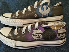 Hand-painted Angry Birds Star Wars Low-top Painted Canvas Shoes,Low-top Painted Canvas Shoes
