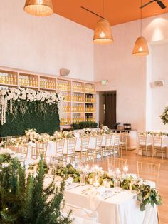 Glamorous Green and Gold Los Angeles Wedding from Carmen Santorelli Photography - MODwedding