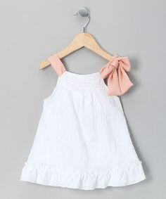 Take a look at this White Cottage Swing Top - Toddler by Cavelle Kids & Eternal Creation on #zulily today!