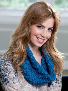 Knit it Tonight Cowl | Yarn | Free Knitting Patterns | Crochet Patterns | Yarnspirations