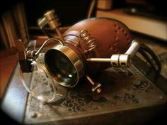 Mr Jonathon Nightingale Lait's Time-Viewing Steampunk Monoggle