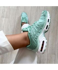 nike air max plus gs tn femme blanc or