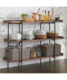 Beckett 3-High Shelf | Crate and Barrel