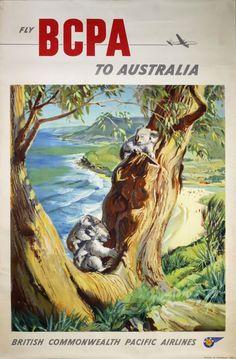"""Fly BCPA To Australia"" by K. Howland"