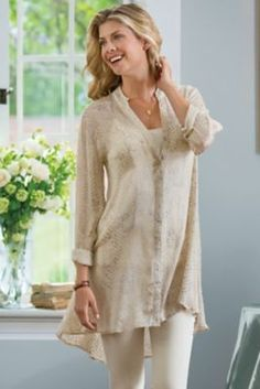 Textured Shirt from Soft Surroundings