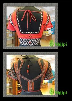 Love these blouses from Shilpi