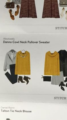 Absolutely Danno Cowl Neck Pullover.  I've been wanting something mustard and I love basic sweaters, especially cowl neck!