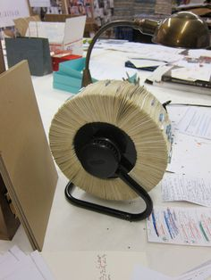 William Ivey Long's rolodex.