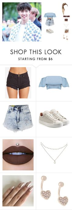 """""""hanging with jaebum"""" by unicorn-923 ❤ liked on Polyvore featuring Billabong, Boohoo, adidas Originals, Forever 21 and Lipsy"""