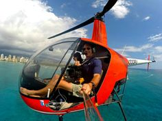#GoPro. Will be able to capture this years helicopter tour over the ocean.