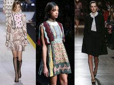Le style victorien Fashion Week, Kimono Top, Tops, Women, Victorian Fashion, Fall Winter 2015, Trending Fashion, Fashion Ideas, Woman