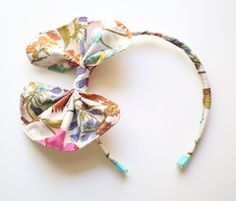 Sweet Bow Headband Tutorial: Violette Field Threads Blog