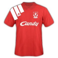 Liverpool home shirt for the 1992 FA Cup Final.
