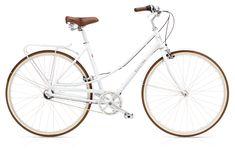 Electra Premium Retro-Bike Loft 3i / 8i Ladies White 3-Gang   Regular (52cm)