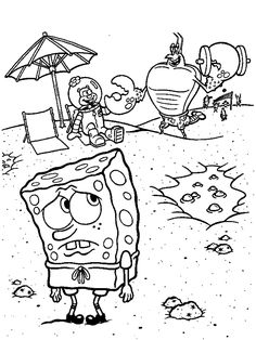 Spongebob Coloring Pages | SPONGEBOB COLORING PAGES
