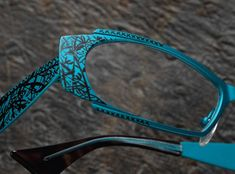 Lace for My Lady » Lafont wrote the book on artistic lace detailing in eyewear. - IDYLLE from @Cary LaFontaine Paris