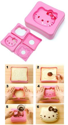 Hello Kitty sandwich maker 헬로키티 #Hello #Kitty #HelloKitty #헬로키티 shared by @Neferast #Neferast