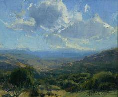 """Northern Arizona"", Bill Anton. oil, 10"" x 12"""