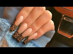 Acrylic Nails At Home, Claws, Motivation, Videos, Youtube, Leopard Nail Designs, Simple Nail Designs, Pretty Nails, Gel Nails