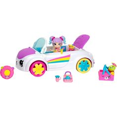 Awesome collection of Shopkins Toys in UK. Shop now for Shopkins season 5 and other series. Pre-order, buy online or collect in your local Smyths Toys Superstore. Shopkins Happy Places Car, Toys For Girls, Kids Toys, Rainbow Beach, Toys Uk, Bratz Doll, Doll Stands, Kawaii, Playrooms