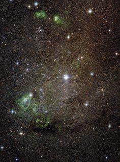 Dwarf Galaxy IC 10 by Nikolaus Sulzenauer