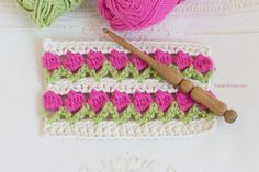 How To: Crochet The Tulip Stitch - Easy Tutorial