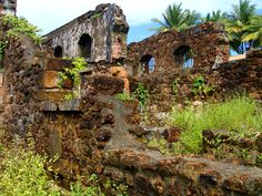 French Guiana - Devil's Is. Abandoned Castles, Abandoned Places, Beautiful Places In The World, Amazing Places, The Places Youll Go, Places Ive Been, French Guinea, British Guiana, World Cruise