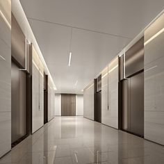 Lobby Interior, Luxury Interior, Interior Architecture, Interior Design, Corridor Design, Hall Design, Elevator Lobby Design, Office Lobby, Office Building Lobby