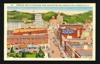 Linen AVL postcard 1950s