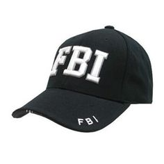 FBI Logo Baseball Cap. This is a career I want to pursue