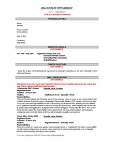 objective resume examples nursing 833 httptopresumeinfo2014 - Federal Government Resume