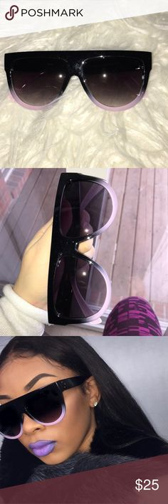 Celine sunglasses Brand new ! Never worn comes with soft case UV protection!! INSPIRED BY CELINE Celine Accessories Sunglasses