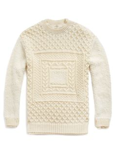 James Long Arran Square Jumper