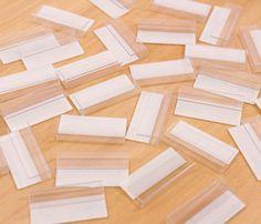 【30個】台紙用 プラスチック製フック 厚さ3㎜ 日本製 【F0001】