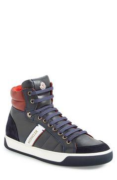 Moncler+'New+Lyon'+High+Top+Sneaker+(Men)+available+at+#Nordstrom
