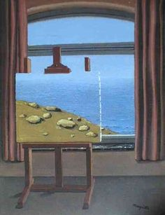 Rene Magritte - The Human Condition, 1934