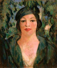 John Duncan Fergusson (1874–1961) Bobbie, Champs Élysées (Roberta Paflin)