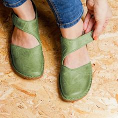 Details about  /New Women/'s Hook/&Loop Casual Mary Jane Ankle Strap Block Low Heel Shoes Pumps D