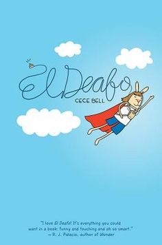 El Deafo by Cece Bell is my favorite book of 2014! It's a graphic memoir about Cece's experience growing up hearing impaired. The graphic novel is the perfect medium to convey just what it feels like to have hearing loss. Of course, Cece's hearing loss is just a part of her life, and this book beautifully and hilariously conveys the trials and tribulations of growing up and friendship. Imagine if Beverly Cleary wrote a superhero comic—that's what El Deafo is to me!